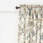 Print Crushed Voile Semi-Sheer Rod-Pocket Panel
