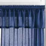 WholeHome®/MD 'Lisbon' Linen-Look Straight Valance