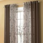 Brynn Sheer Solid Grommet Panel
