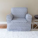 surefit™ Ikat Modern Home Collection 1-Piece Relaxed Fit Chair Slipcover