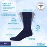 Simcan® Non-Constrictive Health sock Size Medium