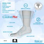 Simcan® Non-Constrictive, Cushioned Activity Diabetic Socks