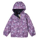 Girls' All-Over Print Polar-Lined Jacket