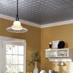 'Tin Ceiling/Wall' Paintable Wall Covering