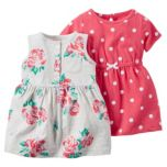 Carter's® Two Pack Dress Set