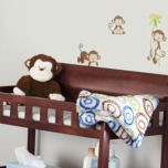 Baby's First® 2-Piece 'Hug And Snug' Monkey Blanket And Plush Toy Set