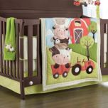 Baby's First by Nemcor™ 'McDonald's Farm' 6-Piece Crib Set