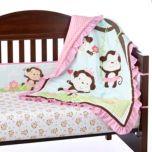 Baby's First by Nemcor™ 'Jungle Princess' Collection 5-Piece Crib Set