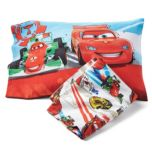 Cars® Toddler Bed Sheet And Pillowcase Set