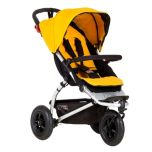 Mountain Buggy® Swift Compact Stroller-Gold