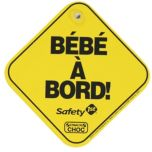 Safety 1st(MD) Affiche en mousse « Baby on Board »