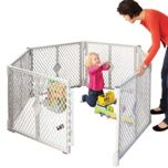 North States® Playards portable Indoor/Outdoor Superyard™ XT
