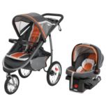 Graco(MD) Combiné de voyage pliant FastAction(MC) Click Connect(MC) - Tangerine