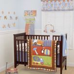 Coco & Company™ 3-Piece Crib Bedding Set - Road Work