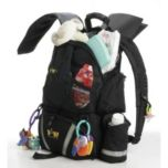 Baby Sherpa® Diaper Backpack (Black)