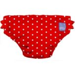 Bambino Mio® Swim Nappy Medium - Red Polka Dot