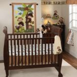 LAMBS & IVY™ Curly Tails 3 Piece Crib Bedding Set