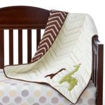 LAMBS & IVY™ 'Giraffe' Collection Reversible Coverlet