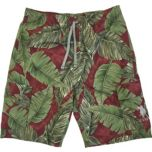 U.S. Polo Assn. Men's Tropical Leaf Print Cargo Shorts