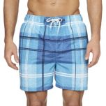 Roots® Men's Plaid Board Shorts