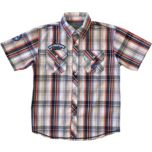 U.S. Polo Assn. Button Front Plaid Shirt