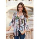 together®/MD Women's Button-Front Blouse