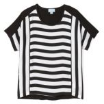 LIZ LANGE® Striped Dolman Sleeve Top