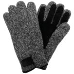 Point Zero® Men's Knit Gloves with Suede Palms