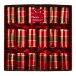WholeHome®/MD Package Of 6 Buffalo Check Holiday Crackers