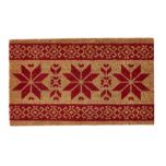 WholeHome®/MD Nordic Print Coir Mat