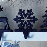 WholeHome®/MD Cast-Iron Snowflake Stocking Hanger