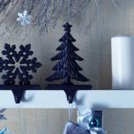WholeHome®/MD Cast Iron 'Tree' Stocking Hanger