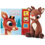 Livre et jouet en peluche Rudolph the Red-Nosed Reindeer(MD) Play-A-Sound(MD)
