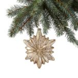 WholeHome®/MD Snowflake Glass Ornament