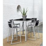 WholeHome®/MD Monaco 5-pc High Dining Outdoor Set