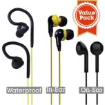 Avantree® 3-Pack Sports Headphones