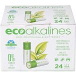 Eco Alkalines™ Eco Responsible Alkaline Batteries Type AAA 12-Pack