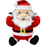 iTalk® Adorable Santa Claus Portable Plush Bluetooth® Speaker