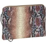 BUXTON® Python Snake Print Mini 10 inch Tablet/e-reader Wristlet Case - Purple