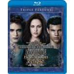 The Twilight Saga:Extended Editions:Twilight/New Moon/Eclipse, Blu-ray