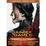 The Hunger Games(MC) : Complete 4 Film Collection (DVD)