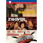 Bad Words/ Swearnet: The Movie/ 21 and Over (DVD)