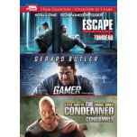 Escape Plan/ Gamer/ The Condemned (DVD)