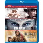 Lone Survivor/ The Grey/ The Road (Blu-ray®)