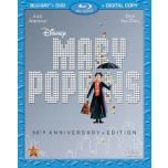 Mary Poppins: 50th Anniversary Edition Blu-ray(MD)/DVD