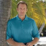 Harbor Bay®Casual Male Big & Tall™ Solid Piqué Polo-style Top