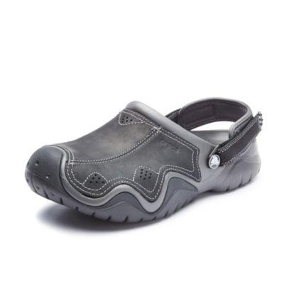 [Sears] Crocs Men's Swiftwater Leather Clog $17.99 w/ ISPU (was $64.99)