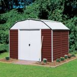 Arrow Red Barn Shed With Foundation -10'x 14'
