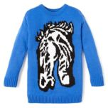 Girl Confidential(TM/MC) Novelty Horse Sweater