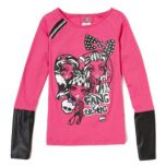 Monster High® Girls Long Sleeve T-shirt